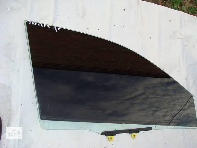 купить бу Б/у стекло двери для седана Mitsubishi Lancer в Черкассах