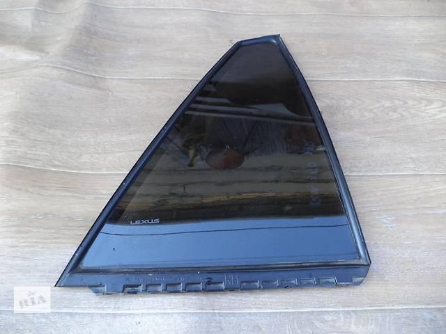 Б/у стекло двери заднее правое глухое 68123-48110 для кроссовера Lexus RX 350 2007г- объявление о продаже  в Николаеве