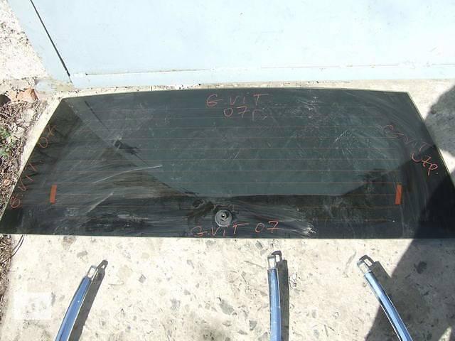 бу Б/у стекло крышки багажника для легкового авто Suzuki Grand Vitara в Ровно