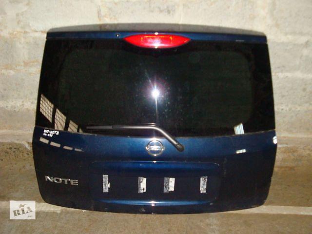 бу б/у Стекло крышки багажника Nissan Note Хэтчбек 2003-2014г в Львове