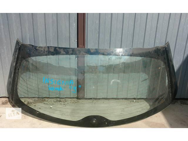бу Б/у стекло крышки багажника, заднє вікно для легкового авто Opel Insignia в Калуше