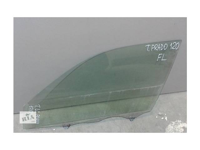бу Б/у стекло передней левой, передней правой, задней правой двери для кроссовера Toyota Land Cruiser Prado 120 2002-2009г в Киеве