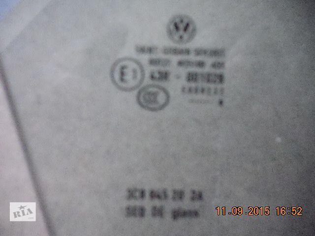 продам Б/у стекло двери для седана Volkswagen Passat CC 2010 бу в Киеве