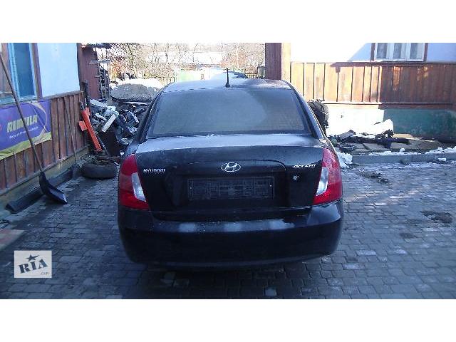 купить бу Б/у стекло ветровое для легкового авто Hyundai Accent 2008 в Коломые