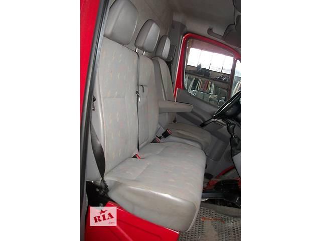 продам Б/у Сиденье 2й-ка пасс. двойка Volkswagen Crafter Фольксваген Крафтер 2.5 TDI 2006-2010 бу в Луцке