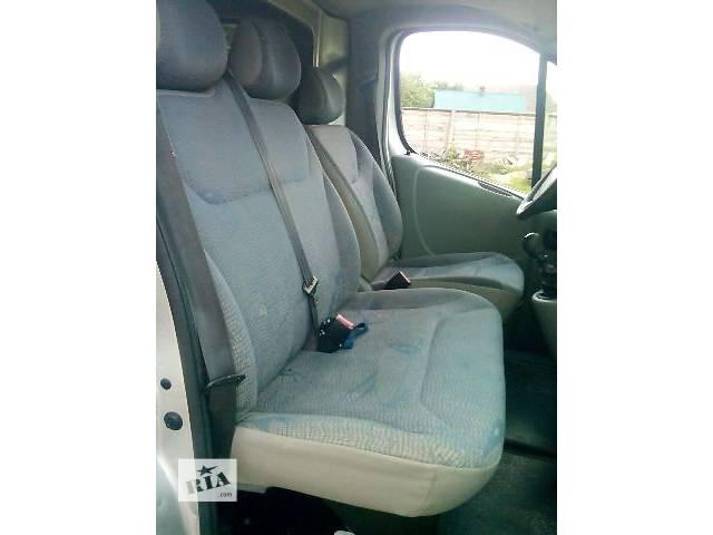бу Б/у сиденье для грузовика Renault Trafic в Ковеле