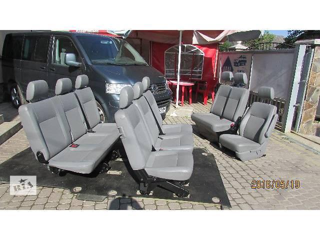 продам Б/у Комплект оригинал Салон сиденье для микроавтобуса Volkswagen Caravella Lang Maxi бу в Хусте