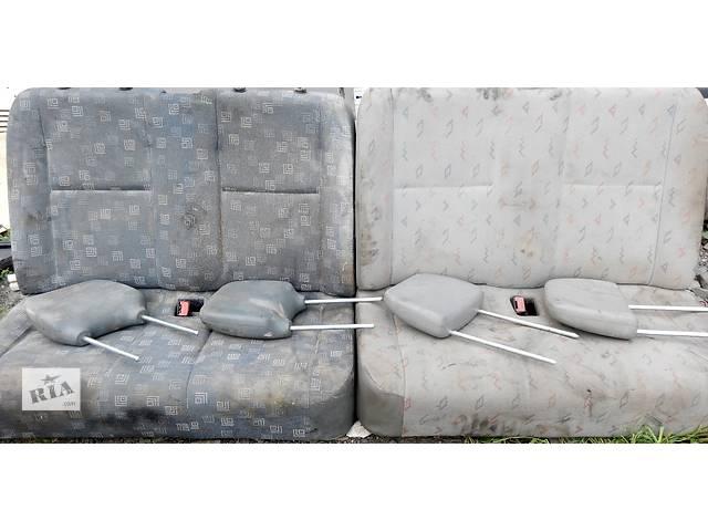 продам Б/у сиденье двойка, двойное пассажирское Volkswagen LT Фольксваген ЛТ 1996-2006 бу в Ровно