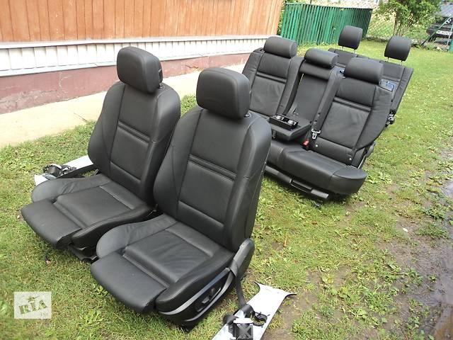 купить бу Б/у сиденье з легкового авто BMW X5 Е70 кожа рекаро кадди touran в Старом Самборе