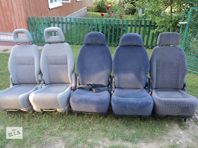 продам Б/у сиденье з минивена Volkswagen Sharan шаран форд галакси сеат бу в Старом Самборе