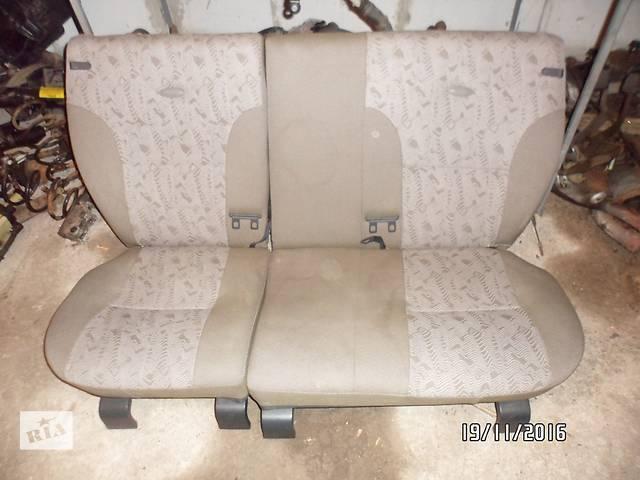 """продам Б/у сиденье заднее для легкового авто ВАЗ 1117""""КАЛИНА"""" бу в Умани"""