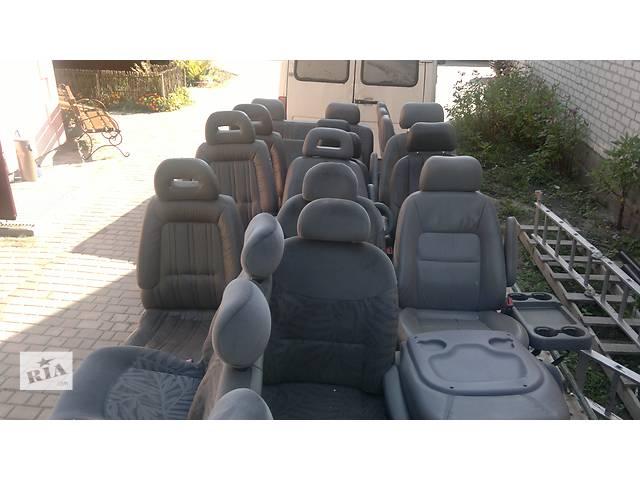 бу Б/у сиденья+розкладной диван для Крайслер Вояджер 1998г. в Луцке