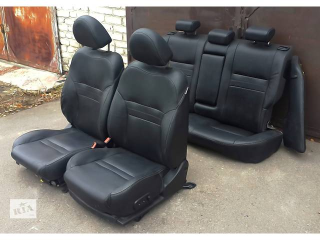 """продам Б/у сидіння для легкового авто Салон КОЖА """""""" Нисан П12 """""""" а так же на Другие АВТО бу в Львове"""