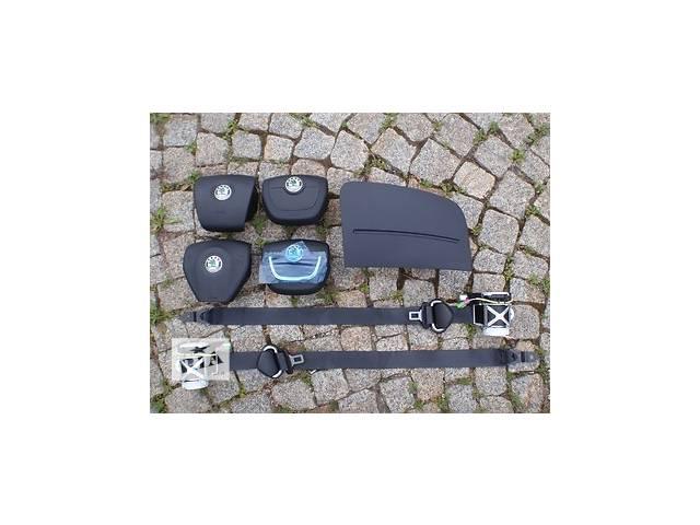 купить бу Б/у система безопасности комплект для легкового авто Skoda Fabia в Львове