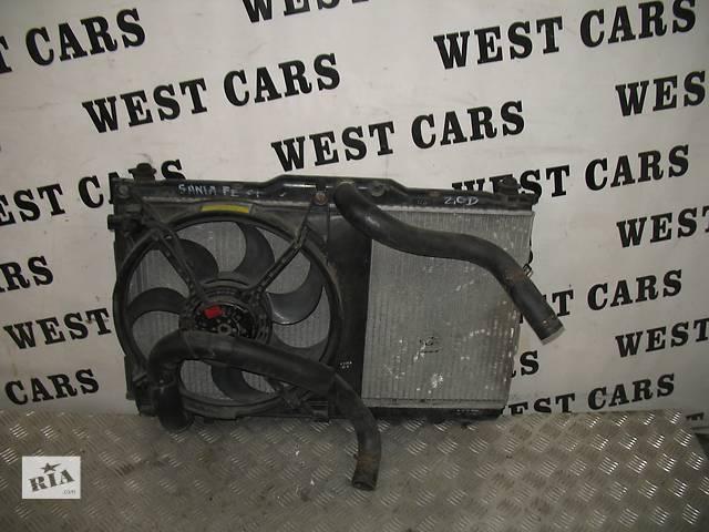купить бу б/у Система охлаждения Вентилятор осн радиатора Легковой Hyundai Santa FE 2004 в Луцке