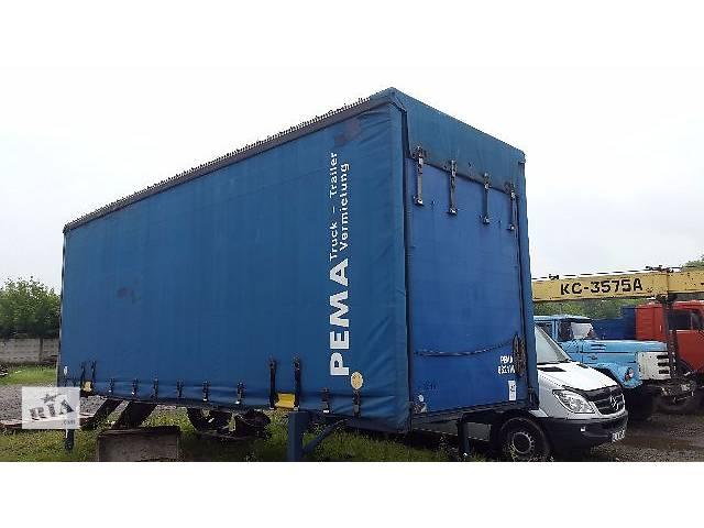 бу БДФ кузов + тент для грузовика MAN 19.364 в Черновцах