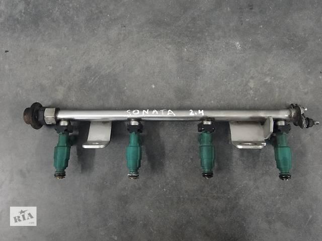 Б/у топливна рейка з форсунками для легкового авто Hyundai Sonata 2.4 05-09р. 35310-25200- объявление о продаже  в Львове