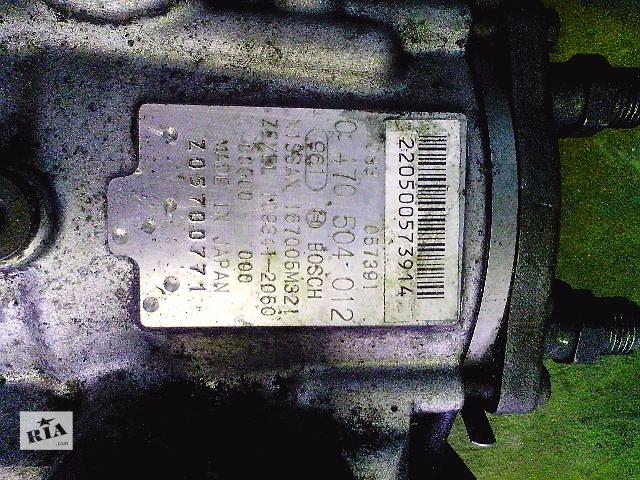бу Б/у топливный насос высокого давления для легкового авто Nissan Almera Tino 2.2td (0470504012) в Ковеле
