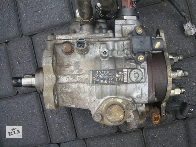 бу Б/у топливный насос высокого давления Toyota Land Cruiser 100 в Киеве