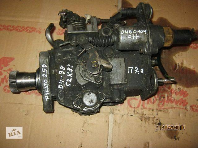 Б/у топливный насос высокого давления/трубки/шест для легкового авто Fiat Ducato- объявление о продаже  в Ковеле