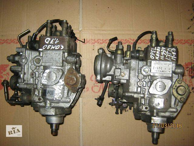 Б/у топливный насос высокого давления/трубки/шест для легкового авто Opel Combo- объявление о продаже  в Ковеле