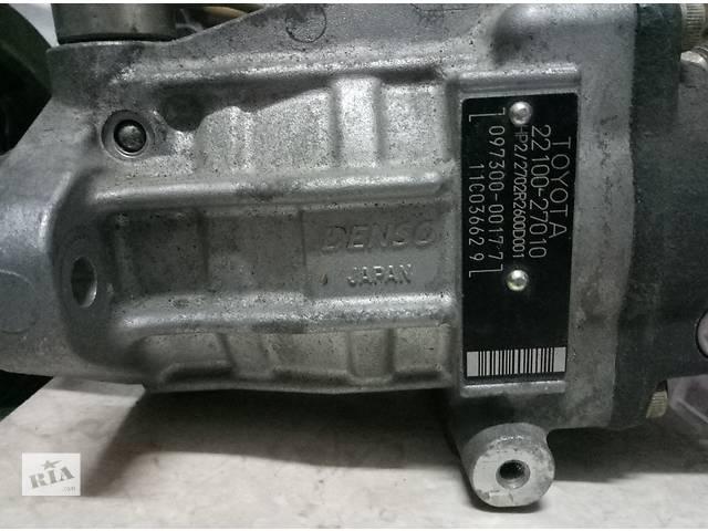 продам Б/у топливный насос высокого давления/трубки/шест для легкового авто Toyota Rav 4 бу в Ровно