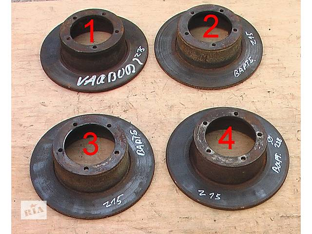 бу Б/у тормозной диск для легкового авто Wartburg 353 в Сумах