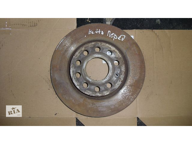 Б/у тормозной диск передний для легкового авто Volkswagen Jetta 2007- объявление о продаже  в Коломые