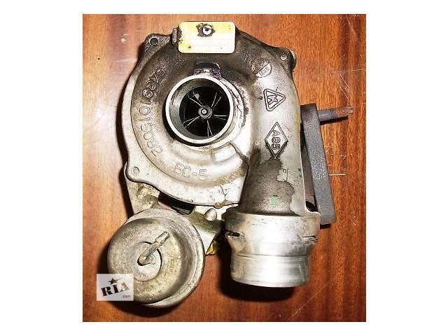 купить бу Б/у Турбіна турбина 1,5DCI K9K 63кВт на Рено Кенго Канго ІІ Renault Kangoo 2 в Луцке