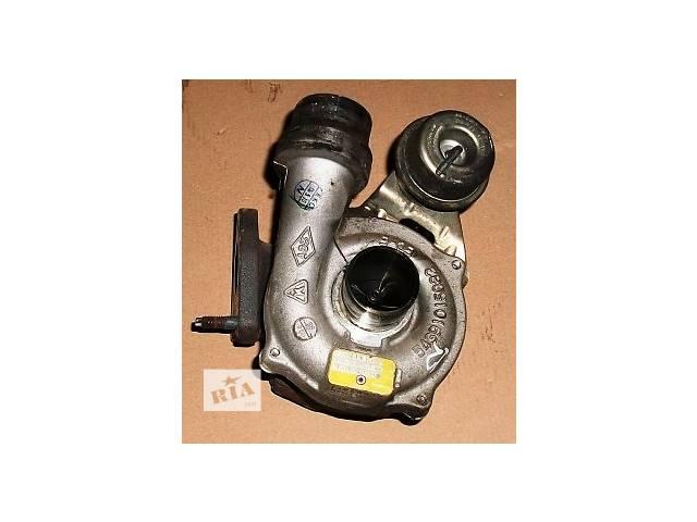 купить бу Б/у Турбокомпрессор турбина 625683H82303720 Рено Канго Кенго 1.5 dCi в Луцке