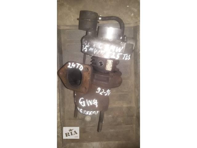 продам Б/у турбина для легкового авто BMW 2.4 tdc бу в Ковеле