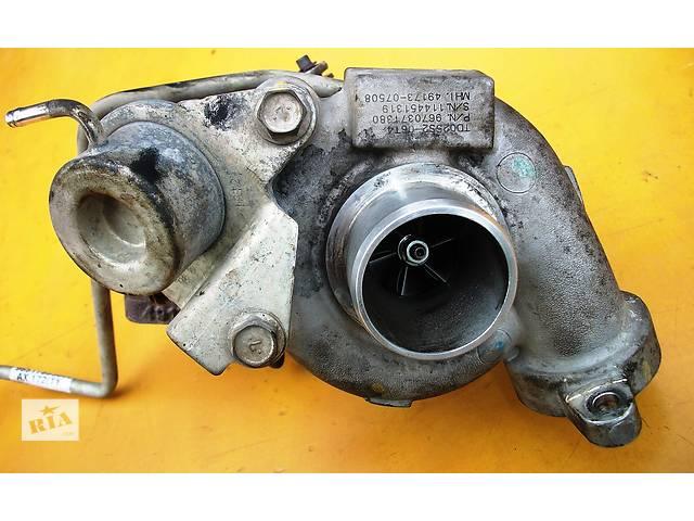 купить бу Б/у турбина GARRETT 9661306080 для минивена Citroen Jumpy 2.0 Джампи Джампі Скудо Експерт (3) в Ровно
