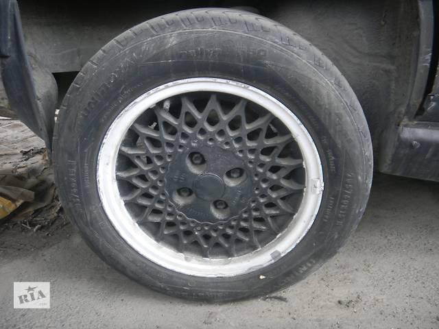 купить бу Б/у титановые диски R 15 /диск с шиной для седана Audi 100 в Виннице