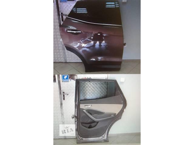 Б/у Уплотнітєль двери задняя для легкового авто Hyundai Santa FE 2013- объявление о продаже  в Костополе
