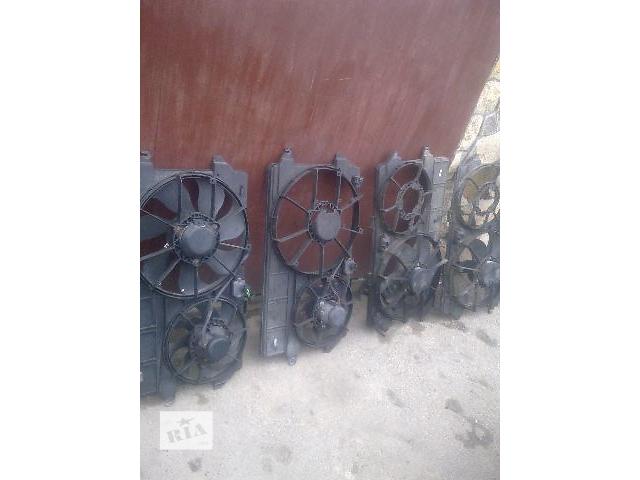 бу Б/у вентилятор осн радиатора для грузовика Ford Transit Connect в Пустомытах (Львовской обл.)