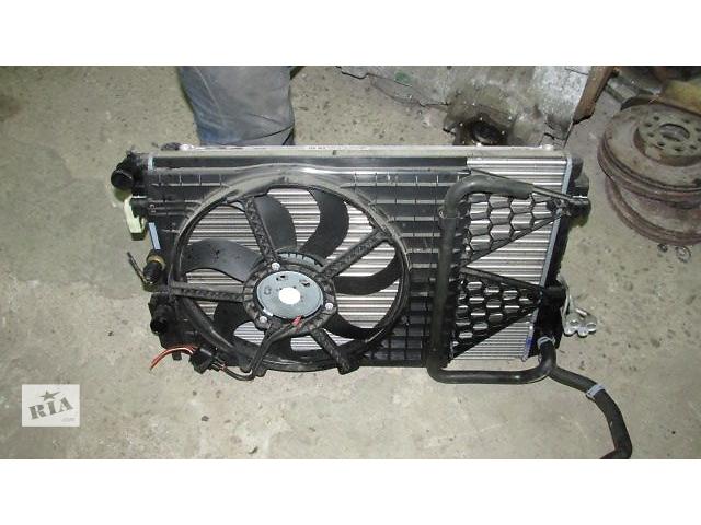 Б/у вентилятор осн радиатора для хэтчбека Skoda Fabia- объявление о продаже  в Львове