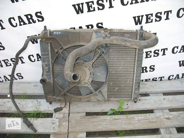 купить бу Б/у вентилятор осн радиатора для легкового авто Chevrolet Aveo Hatchback (5d) в Луцке