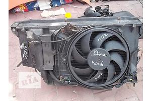 б/у Вентиляторы осн радиатора Peugeot 206