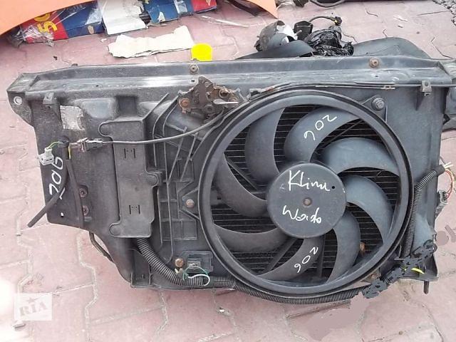 купить бу Б/у вентилятор осн радиатора для легкового авто Peugeot 206 в Львове