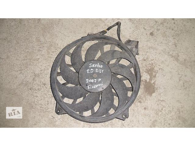 купить бу Б/у вентилятор осн радиатора для легкового авто Skoda Fabia 2008  в Коломые