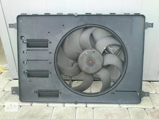 бу Б/у вентилятор осн радиатора  Ford Kuga в Киеве