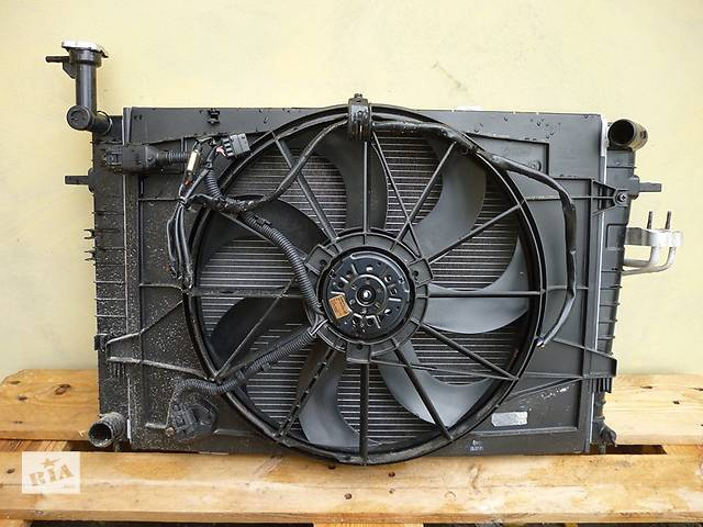 продам Б/у вентилятор осн радиатора Kia Sportage бу в Киеве