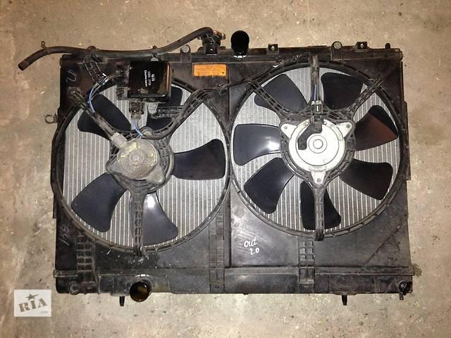 продам Б/у вентилятор осн радиатора  Mitsubishi Outlander бу в Киеве