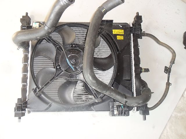 купить бу Б/у вентилятор основного радіатора для легкового авто Chevrolet Spark 1.0 в Ровно