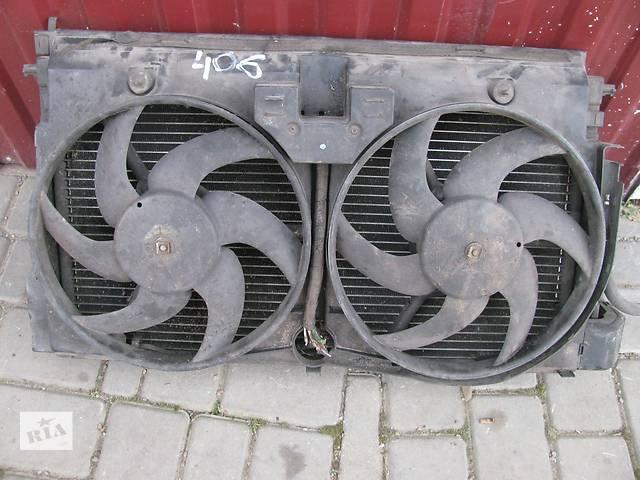 купить бу Б/у вентилятор рад кондиционера для легкового авто Peugeot 406 в Львове