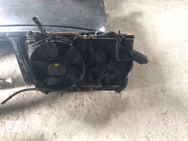 купить бу б/у Вентиляторы с дифузором радиатора Хэтчбек Chevrolet Tacuma 2007 в Львове
