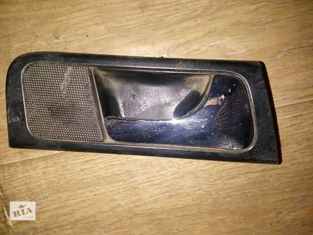 купить бу Б/у внутренняя ручка двери задняя левая 96548063 для седана Chevrolet Lacetti 2007г в Киеве
