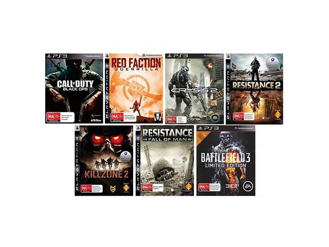Б/у Игры для PS3 (огромный ассортимент, отправка по украине)- объявление о продаже  в Киеве