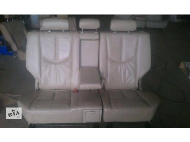 Б/у заднее сиденье для кроссовера Lexus RX 300 (I) 2001г- объявление о продаже  в Киеве