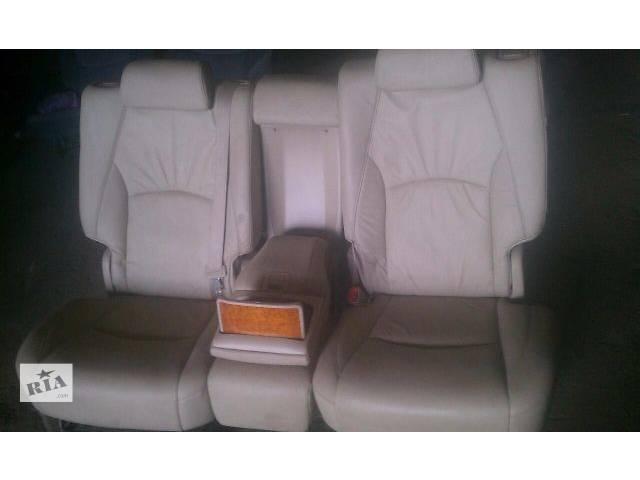 Б/у заднее сиденье для кроссовера Lexus RX 350 2007г- объявление о продаже  в Николаеве